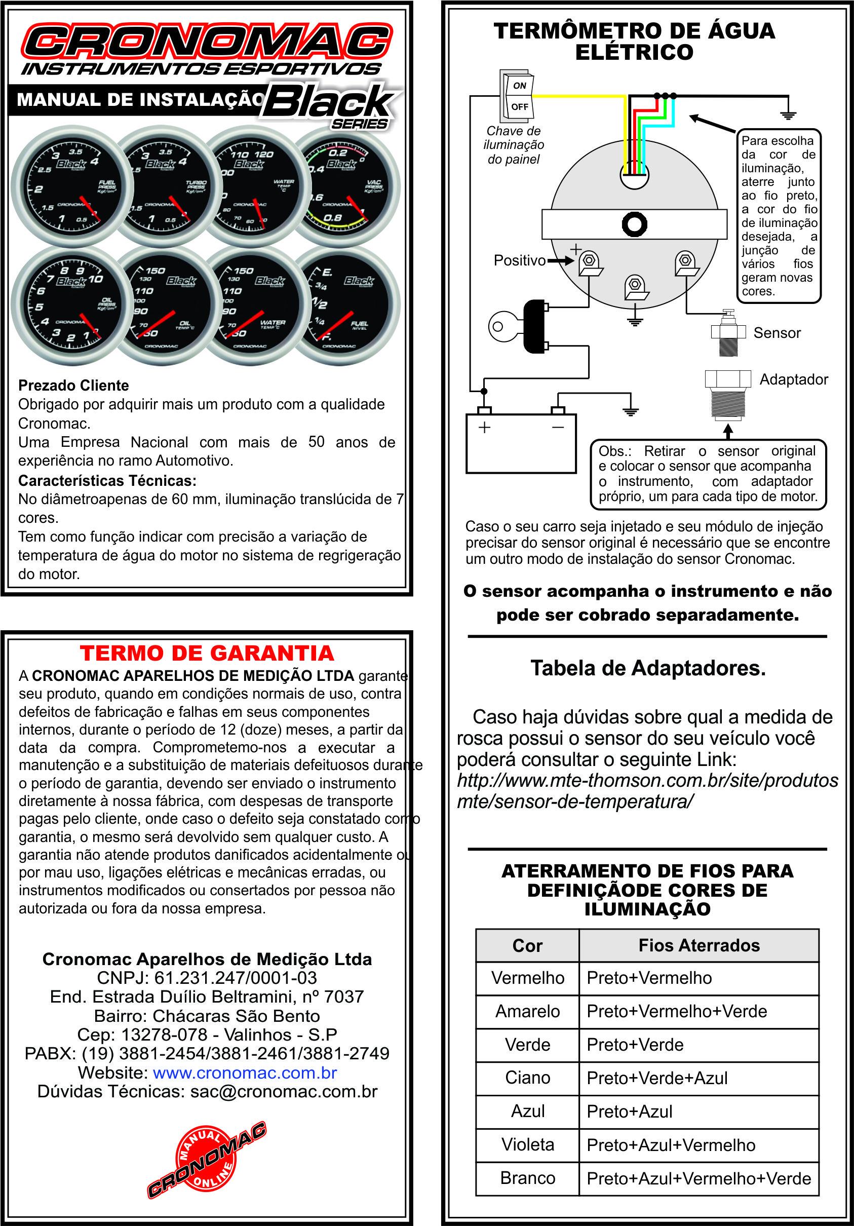 Manual - Term.Elétr. Àgua - Blac Series Versão On Line