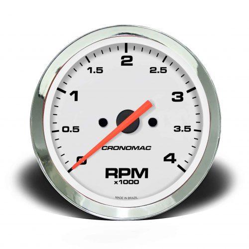 Contagiros 100mm 4.000 RPM DIESEL Croma – Branco
