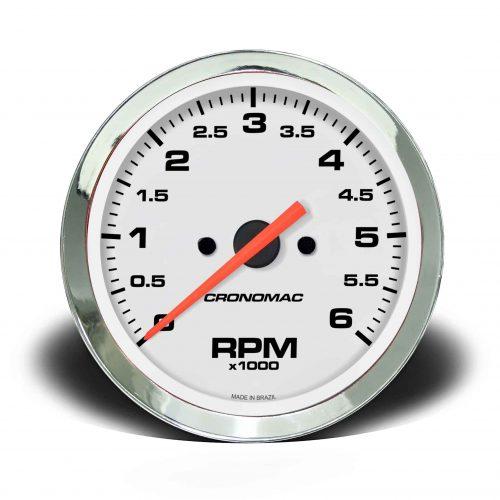 Contagiros 100mm 6.000 RPM DIESEL Croma – Branco